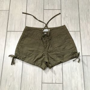 Old Navy Olive Green Cargo Shorts - Size 2